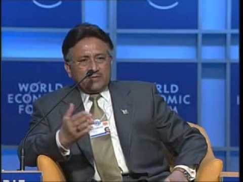 Davos Annual Meeting 2004 - Pervez Musharraf