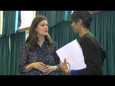 Rita Chakrabarti reports for BBC News from our Inspiring Women event at Basildon Upper Academy