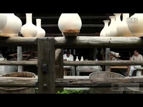 The procedure of porcelain making in Jingdezhen City .mp4