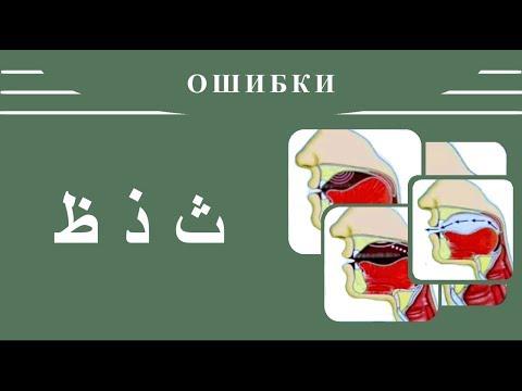 Айман Сувейд. 11. Ошибки в буквах: ث , ذ , ظ (с субтитрами на русском)