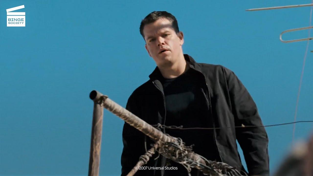 Download The Bourne Ultimatum: Police officers scene HD CLIP