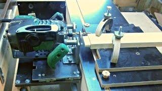 Фрезерно-копировальный стол. Часть 1. Обзор. The milling machine for wood. Part 1. Review.