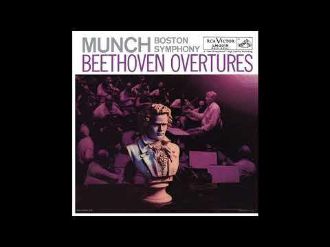 Beethoven – Overtures – Boston Symphony Orchestra, Charles Munch (1956/2016)