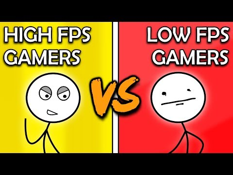 High FPS Gamers VS Low FPS Gamers