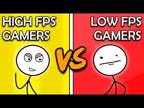 High FPS Gamers VS Low FPS Gamers