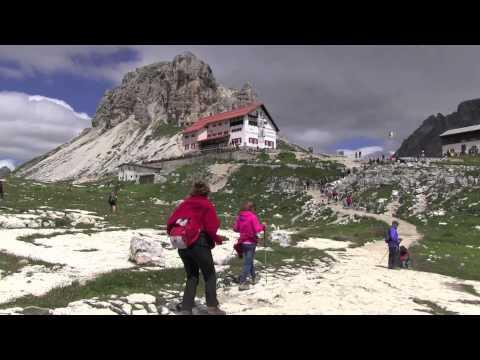 Alto Adige-Veneto- dal rif. Auronzo al Locatelli e ritorno- anello Tre Cime di Lavaredo-HD