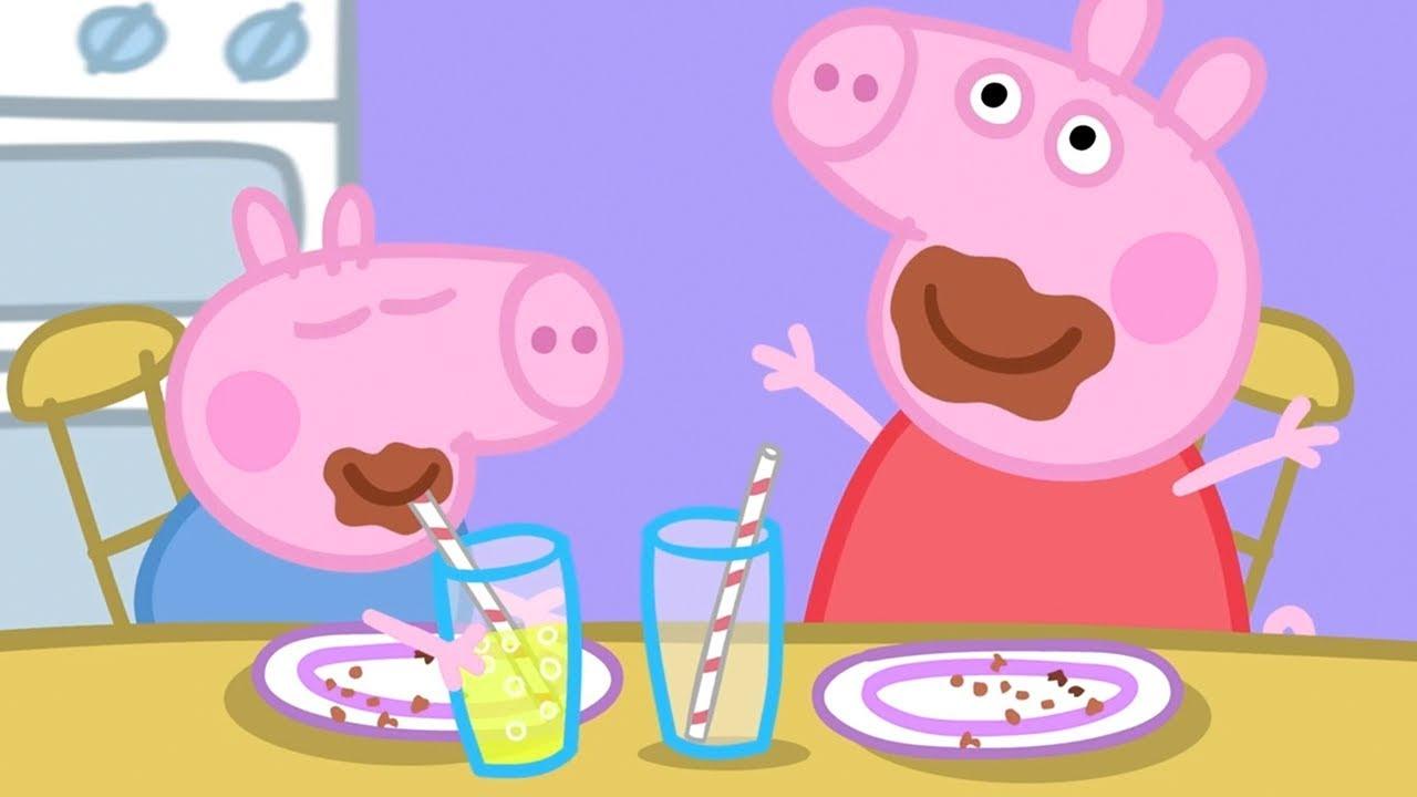 Peppa Pig Chocolate Cake