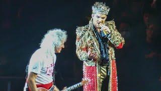 【4K】2020 - QUEEN+Adam Lambert - We Will Rock You & We Are The Champions -Saitama Super Arena2,Japan