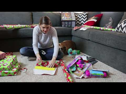 CHRISTMAS GIFT WRAPPING SPEED CLEANING ROUTINE | HOLIDAY CLEAN WITH ME