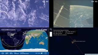 Asian Coastlines - NASA/ESA ISS LIVE Space Station With Map - 489 - 2019-02-18
