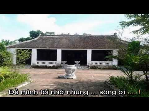 [Karaoke full HD]Trở về dòng sông tuổi thơ - Lê Anh Dũng