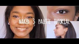 Naked 3 Palette Makeup Tutorial Thumbnail