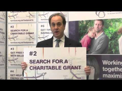 Brooks Newmark, MP Supports Turn2us Fuel Poverty Campaign