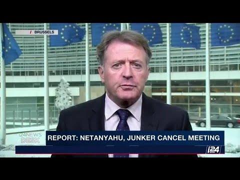 Report: Meeting canceled between PM Netanyahu and EU Commissioner, Jean-Claude Junker.