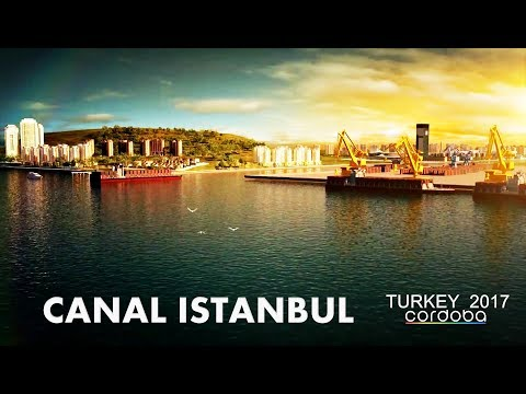TURKEY'S MEGA PROJECTS TURKISH ENGINEERING CANAL ISTANBUL