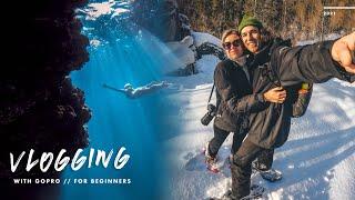 how to use goṗro for vlogging (BEGINNER tips)