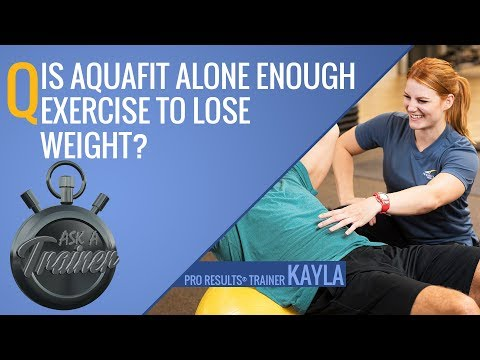 Is Aquafit Alone Enough Exercise to Lose Weight? | Ask A Trainer | LA Fitness