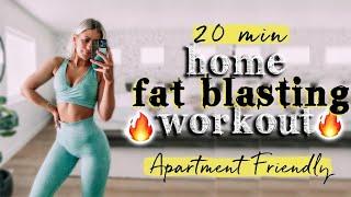 20 MIN HOME WORKOUT FOLLOW ALONG