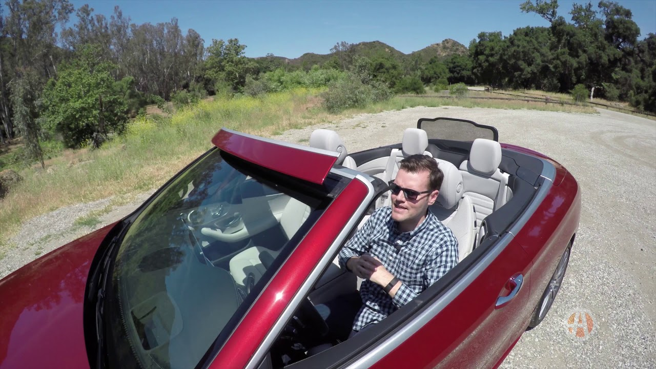 Why The Mercedes Benz C300 Cabriolet Air Cap Feature Makes For A Better Convertible Autotrader Youtube