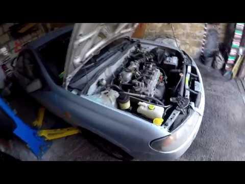 Nissan Almera n16 1.5 замена цепи ГРМ