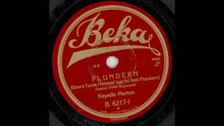 Flundern - Unsre Tante Henriett hat im Bett Flundern