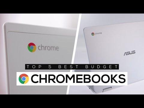 Top 5 Best Budget Chromebooks 2018!