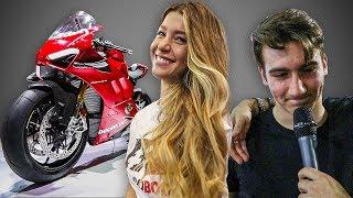 EICMA 2018: MOTO, RAGAZZE E DISSING CON FIL