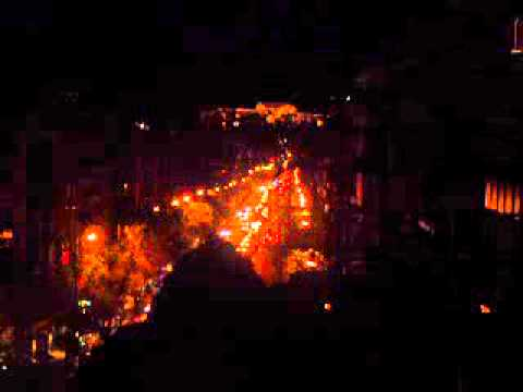 Πατησιων την νυχτα - Patission Street - Night Plan - Akropolis