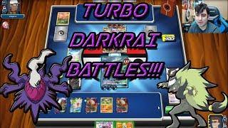 EXPANDED Turbo Darkrai Deck Profile & Battles!!! PTCGO!
