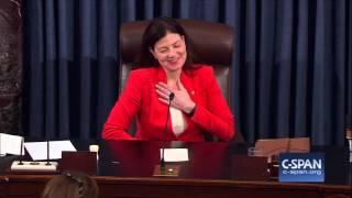 """Sen. Lisa Murkowski: """"Neigh"""" (C-SPAN)"""