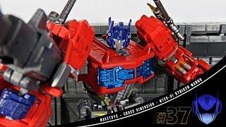 MakeToys Cross Dimension MTCD-01 Striker Manus (NOT Optimus Prime) 3rd Party action figure review