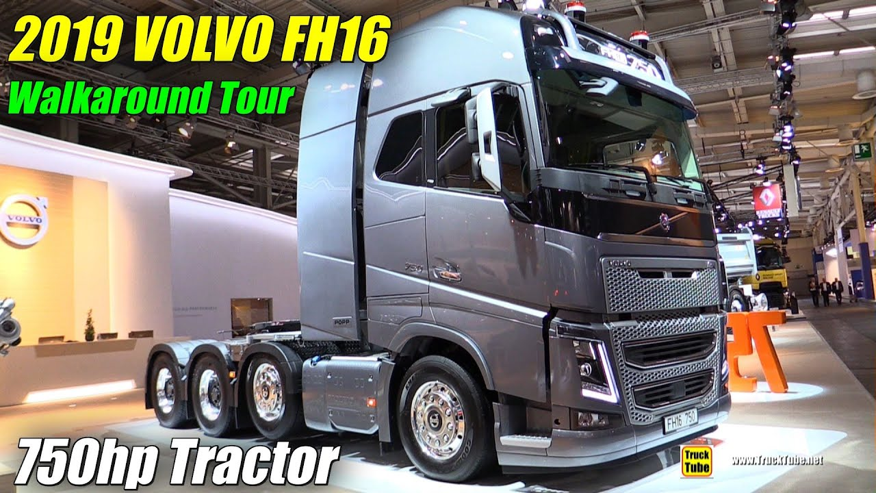 2019 Volvo Fh16 750hp Tractor Exterior And Interior Walkaround