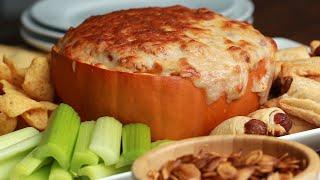 Pumpkin Chili Cheese Dip