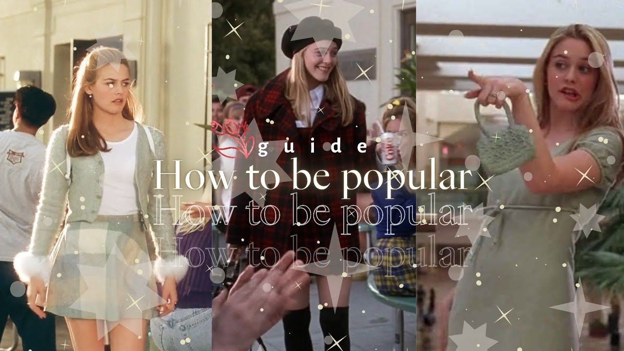 How to be a popular girl? 💅🏻👯🏻♀️🧖🏻♀️ in school or everywhere 💄