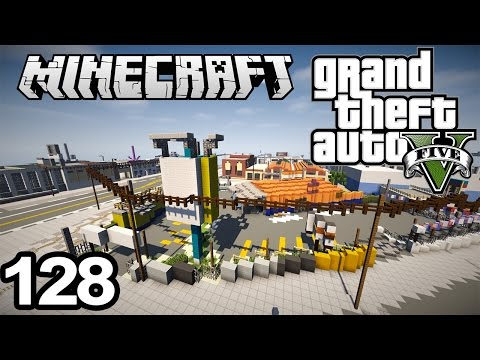 This guy has created 128 episodes recreating the entire GTA 5 map in minecraft. I think he deserves some attention!!