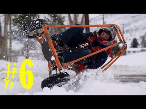 Homemade Go-Karts Episode #6 (Snow Roller)
