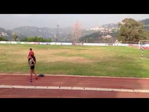 800 M Outdoor Lebanese Championship 2014