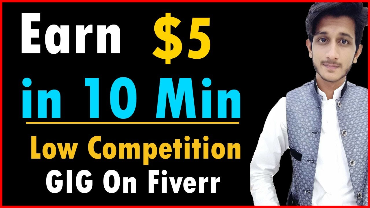 Earn $5 in 10 Min From Fiverr | Fiverr Low Competition Gigs 2020 | Certificate Design Gig