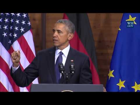 Remarks by President Obama in Address to the People of Europe at Hannover Messe