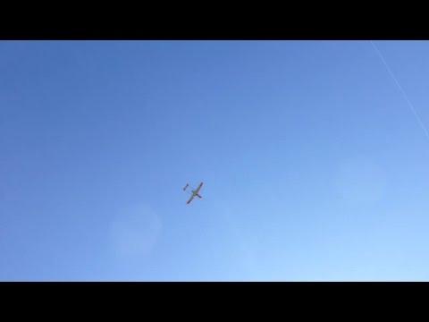 ADS-95 - Drohne im Landeanflug 2013-10-19 Airbase Emmen TdOeff
