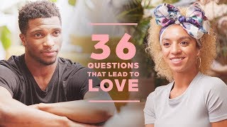 Can 2 Strangers Fall in Love with 36 Questions? David + Nicole