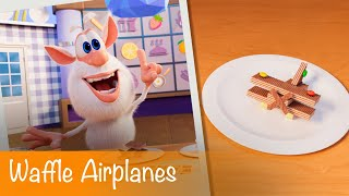 Booba - Food Puzzle: Waffle Airplanes - Episode 16 - Cartoon for kids