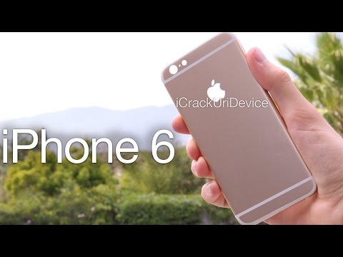 NEW iPhone 6 Leaked Housing - Unboxing, First Look: iPhone 5s vs iPhone 6 Component Review - Jailbreak iOS 7.1 - iCrackUriDevice  - Jn35DkJdSdY -