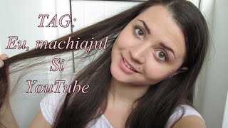 TAG: Eu, machiajul si YouTube  ( TAG made by Ioana114 ) Thumbnail