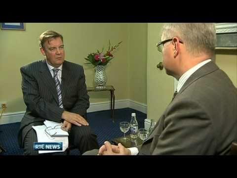 Bryan Dobson Interviews Olli Rehn