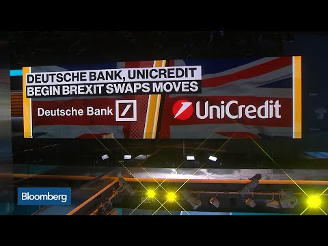 Deutsche Bank, UniCredit Begin Brexit Swaps Move From London