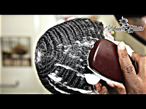 How to WASH your 360 waves: Short Hair Wash Method!
