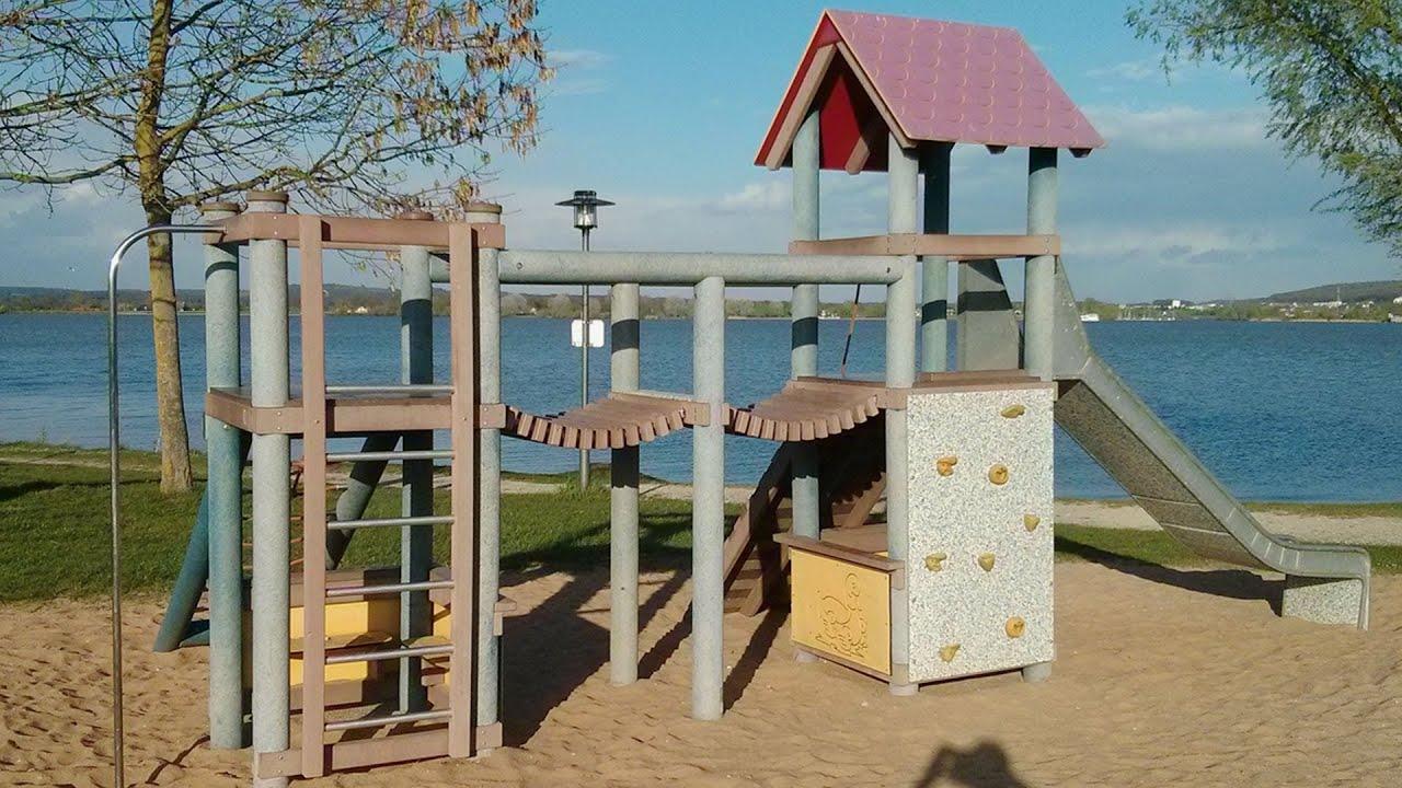 Spielplatz Am Altmuhlsee Seezentrum Wald Mit Biergarten Kiosk Direkt Am Strand Youtube