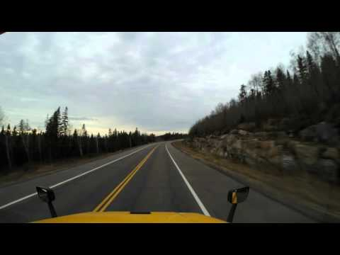 James Bay Highway To Chisasibi from Ottawa Time Lapse November 18th to 20th 2015
