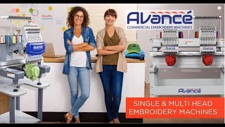 Avancé Industrial Embroidery Machines | Best for Your Business